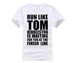 Phiking Film Hemd mit Rundhalsausschnitt Men Graphic Short Sleeve Runer Wie Tom Hiddleston T Shirts