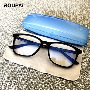 ROUPAI anti blue light ray radiation glasses for computer gaming eyeglasses men women blue blocking Goggles gafas luz
