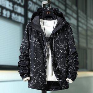 Весна осенью мужская повседневная камуфляжная капюшона куртка мужская ветровка пальто мужская вовша плюс 10xL 9XL 8xL 7xL 6xL 5XL