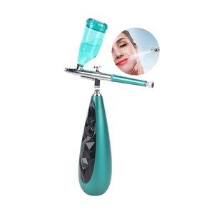Oxigênio portátil Infusion Nao spray névoa Gun Oxygen Injection Jet descamação da pele Facial máquina DHL Fedex transporte rápido