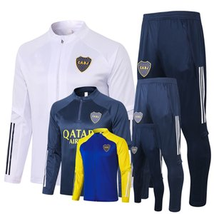 Survetement RaceSuits 2020 2021 Boca Juniors Soccer Sets Tracksuit هوديس كرة القدم سترة مجموعة S-2XL