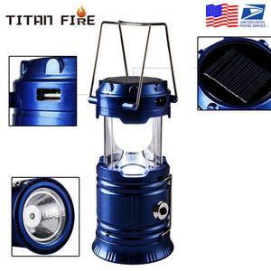 Перезаряжаемый Солнечный фонарь Кемпинг 2 LED источник света Poweful Портативный кемпинга Фонари Открытый Палатка свет лампы