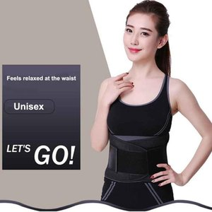 Women Men Body Shaper Training Supporting Gym Muscle Compression Slimming Waist Trimmer Abdominal Workout Sweat Wrap