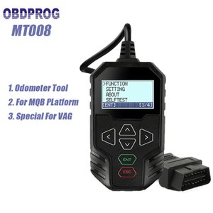 OBDPROG MT008 Mileage Correction Tool Odometer Adjustment for Audi Skoda Mileage Reset After 2014 MQB Odometer Correction