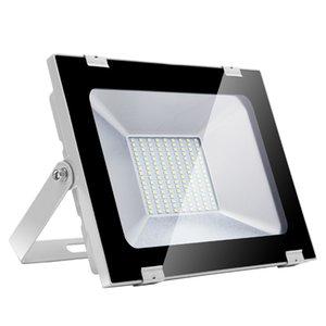 5. Neu ultradünne Flutlicht 100W im Freien wasserdichten Garten-Licht Straßenlaterne Sicherheit Notfalllampen Flutlicht