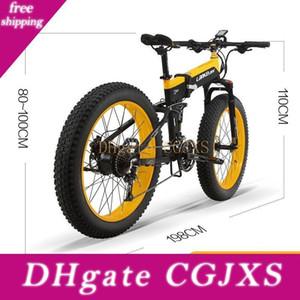 X 48V 1,000w 전기 자전거 뚱뚱한 자전거 (14) .5ah Panasoni '; C 배터리 접이식 Ebike