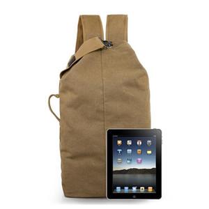 Ретро Canvas конструкторов-Mens сумка Открытого Альпинизм плечо рюкзак Мужской большая емкость для путешествий Компьютера рюкзак сумка Фитнес горячей