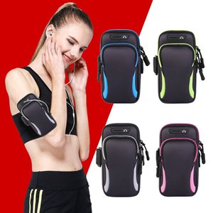 Armbands Universal Waterproof Mobile Phone Bags Arm Band Bag phone Case Wallet Holder Outdoor Pouch On Hand Gym Belt phone Cover Running