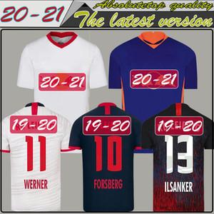 20 21 RBL WERNER كرة القدم جيرسي فورسبرغ 2020 RBL OLMO كرة القدم قميص Leipziges NKUNKU SABITZER RasenBallsport قمصان كرة القدم جيرسي SCHICK