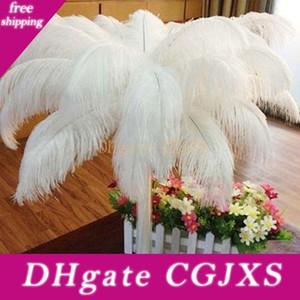 Decoração Branca Avestruz Feathe da tabela do casamento da peça central de penas de avestruz Ostrich Plume Decoração Party Centerpiece