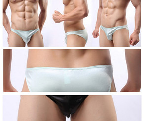 wholesale high quality low price 5 pcs lot nylon Men's Sexy T-pants G-sgrings underwea (12bv