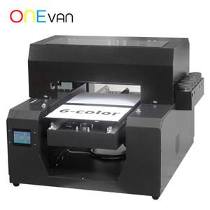 ClothT-Shirt A3 UV-Drucker Inkjet-Flachbettdrucker Kundenspezifische Logo Garment DTG Druckmaschine frei mit Tinte / Tray