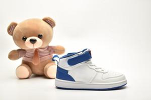 2020 capretti di disegno classico high-top Court Borough Mid 2 scarpe da basket Nuova Università Nero Rosso Gioco Reale Little Children rosa Sneakers