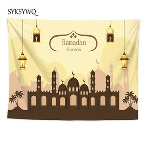 Hanging lamp tapestry wall decor castle wall blanket new arrival large 3d carpet bedroom decor
