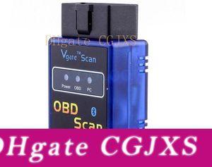 Vgate originale Mini Elm 327 Bluetooth Version 1 0,5 Obd balayage Elm327 Bt pour PC portable Pda Lire Codes d'anomalie