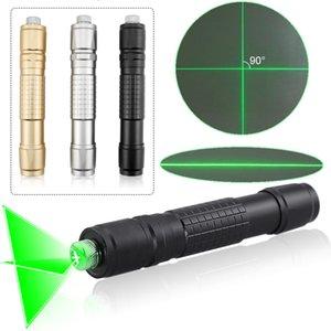 CWLASER High Power Line Beam / поперечине Focusable 532nm Зеленая лазерная указка Зеленый Горение лазерный фонарик (3 цвета)