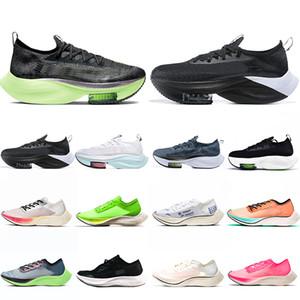 Yakınlaştırma VaporFly SONRAKİ% Erkek Ayakkabı Koşu Kireç Blast Ekiden Kediotu Blue Ribbon Yelken Pembe Womens Eğitmenler Spor ayakkabılar 36-45