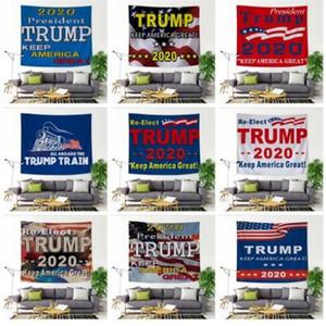 Стена Гобелен Trump висячие декоративного фона Картина Trump пляж Йога Одеяло шаль Ванна Towelund Flag Подвеска Гобелены DHC1071