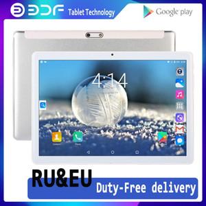BDF 2020 새로운 10 인치 안드로이드 7.0 태블릿 PC Google Play의 3G 전화 통화 태블릿 와이파이 블루투스 GPS 2.5D 강화 유리 탭