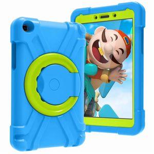 EVA kid's Shockproof Case For ipad mini 1 2 3 4 5 MINI45 samsung 8.4 T290 T307 amazon HD 8.0 360 rotating cover 5 6 shell stand holder