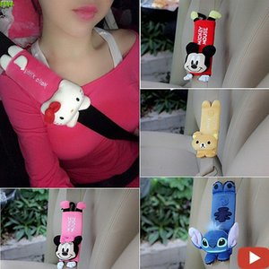 FLYJ 1pcs cute Cartoon Car Sefety Seat Belt cover Child isofix Seat belt Shoulder Pads Protection Plush Padding Auto Accessories 7jHb#