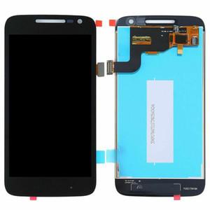 لوحات Cgjxscell الهاتف LCD تعمل باللمس محول الأرقام لمدة 5 0.0 بوصة موتورولا موتو G4 اللعب استبدال أجزاء لا الإطار