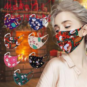 Helloween Маски из тыквы Олень Рот Обложка Xmas Halloween Printed лица Маски Мультфильм против пыли Xmas маска Дизайнера Маски T2I51510