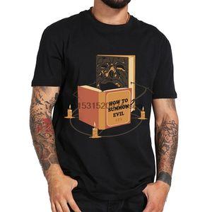 Das Böse Learning-schwarze T-Shirt T-Shirt Punk