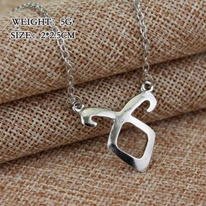The Mortal Instruments City of Bones Pendant Necklace Vintage Angelic Power Runes Shadow Hunters Necklaces Jewelry For Men Women