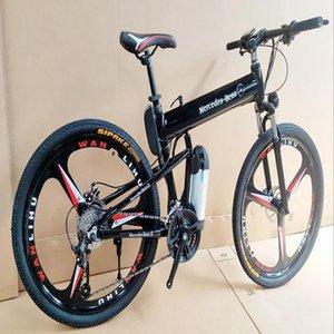 fábrica de la marca directa bicicleta de montaña de 26 pulgadas de aleación de baterías de litio y aluminio bicicleta de montaña de alta calidad para hombre de la bicicleta eléctrica de corriente para automóvil regalo
