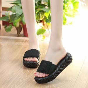 New Style Women Wedges Slippers Fashion Beach Summer Platform Shoes Woman Anti Skid Thick Sole Slides Ladies Casual Flip Flops bOof#