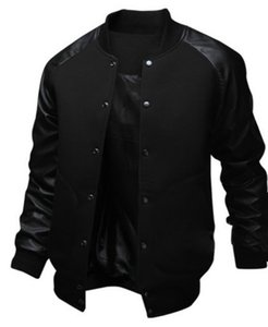 NEW Men's Jacket Big Pocket Slim Hip Hop Baseball Jacket Designer Long-sleeve Pure Color Mens Windbreaker Jackets fz0986
