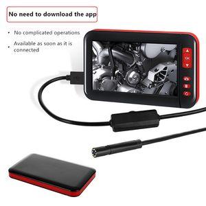 4.3 inch HD1080P 8MM Screen inspection borescope HD TFT IPS camera Car Monitor endoscope for cars endoscopio