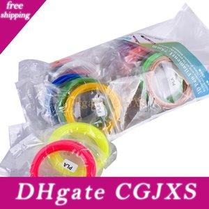 Kalite Ürün Abs / Pla 1 .75mm 20 Renkler 5m / Renkli 3d Kalem Filament 1 .75mm Abs / Pla Plastik Filament 3d Yazıcı Kalem Tel