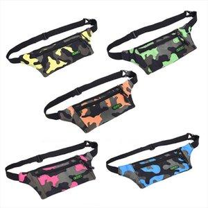 waist bag Boys Girls Kids Comouflage Fanny Pack Travel Bum Bag Money Waist Belt Walking Holiday Pouch