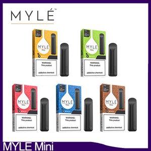 Myle Mini jetable appareil Vape Pen Starter Kit 280mAh 320 bouffées 1.2ml cartouche jetable Memory Stick Pen eCig VS STIG MYST