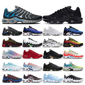 air max tn 2019 Top quality running shoes para homens triplo branco preto Volt Color Flip HYPER CRIMSON moda Athletic sports sneakers formadores tamanho 40-46
