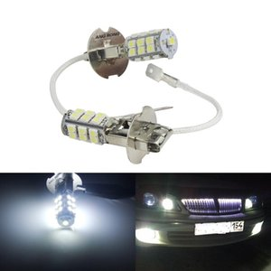 ANGRONG 10шт H3 25 LED 3528 SMD лампы Фара вождение автомобиля Противотуманные фары яркий белый 6000K