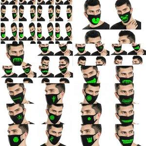 Neopren Face Dark Maskeler Yarım Kafatası Glow Designer Toptan Erkek Cheaply Best_dhseller Tpoqx Maske
