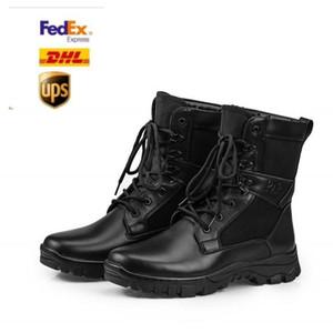 2020 hommes Bottes désert militaire tactique Bottes d'extérieur Chaussures de randonnée imperméable Hommes Chaussures antidérapante Sport Bottes Combat OD0003