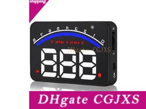 새로운 도착 유니버설 자동차 디지털 속도계 OBD2 인터페이스 자동차 대시 보드 HD 디스플레이 자동차 헤드 업 디스플레이