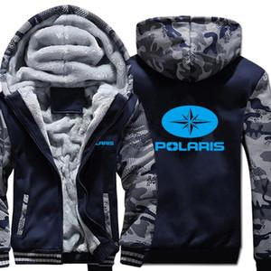 Polaris Толстовки Winter Камуфляж Рукав куртки мужские Флис Поларис фуфайки
