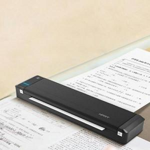 Портативный термотрансферный принтер Mini Bluetooth USB мобильный принтер формата А4 домашний бизнес с встроенным аккумулятором