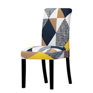 Élastique Chair Cover Taille universelle Big Noël pas cher fauteuil extensible Seat Cover Slipcovers Pour Salle à manger Hôtel Banquet Accueil HWF777
