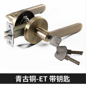 secure and safe anti-theft door lock American residential Tubular Lever Door Lock Factory Price top quality entrance bathroom function