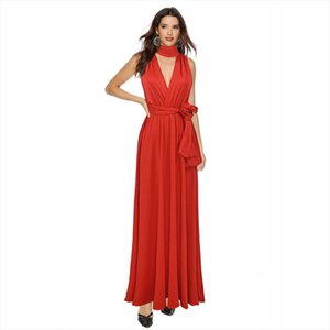 Women Sexy Long Party Dress Club Floor Length Summer Backless Bandage Maxi Dress Multiway Bridesmaids Boho Women Dress Vestidos