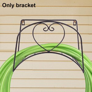 Retro Durable Reel Sturdy Hanger Garden Hose Holder Organizer Storage Rack Wall Mounted Iron Universal Decorative Water Pipe