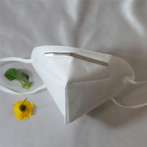 Masque de protection KN95, niveau KN95, Cinq couches de protection, conviennent au visage, bloquent efficacement toutes sortes d'environnement de pollution