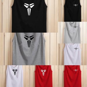 bquNO d0E5b Vest di base senza maniche estate degli uomini T- adolescenti coreano moda underpantsbrand mutande T-shirt maglia di svago stampati Loos sportivi