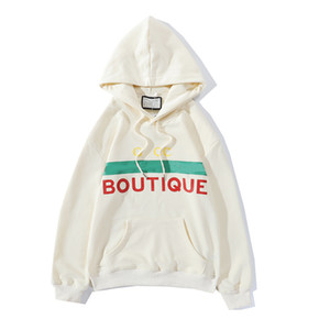 2020 Neue Ankunft Herren Hoodie Pullover Herbst / Winter Mode Brief Druck Trend Hohe Qualität Damen Pullover Hoodie Größe S-2XL